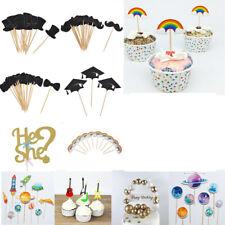 Wedding Birthday Party Cake Picks Cupcake Toppers Cake Dessert Decor Supplies