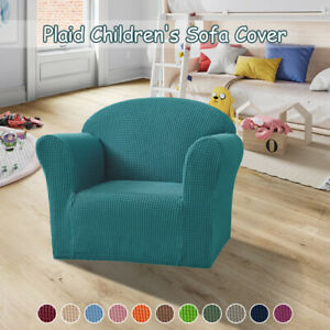 Elastic Tub Sofa Armchair Seat Cover Slipcover Kids Small Chair Couch Protector