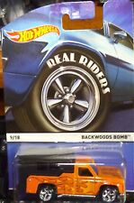 2015 Hot Wheels * Heritage * Backwoods Bomb Orange C Case Ships World Wide