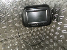 2007 RENAULT MEGANE SCENIC 1.9 DCI FRONT SEAT HEAD 7 INCH TFT MONITOR