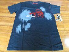 NEW DRAGONFLY ELVIS PRESLEY T-SHIRT MENS MEDIUM BLACK RED GREY