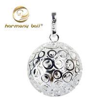 Hollow Bubble Design Harmony Ball Mexican Bola Jingle Bell Pendant Musical Sound