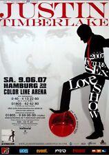 TIMBERLAKE, JUSTIN - 2007 - Konzertplakat - Future Sex Love - Tourposter - HH