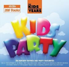 C.R.S.PLAYERS - KIDS YEARS-KIDS PARTY 10 CD NEU