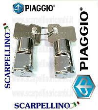 KIT CILINDRETTI SERRATURE PIAGGIO APE POKER DIESEL -KIT LOCK-  142706