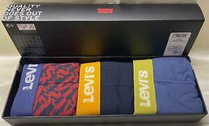 Levi's Unterwäsche Boxershorts Shorts Boxer Brief 3er Pack 37149-00307 Giftbox