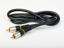 3ft Composite Video RCA Cable M/M 24k Gold Plated connectors