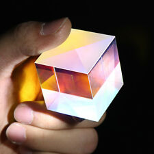 35*35*37mm Cube Prism Defective Cross Dichroic RGB Combiner Splitter Glass DIY