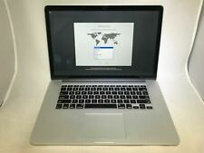 MacBook Pro 15 Retina Mid 2014 2.8GHz i7 16GB 1TB SSD Fair Condition