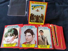 "1980 Topps ""Superman II"" Complete Movie Trading Card Set"