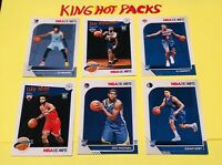 2019-20 Hoops Basketball Zion Williamson Rookie Lot Of 6  MORANT, BARRETT Mint