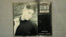 ROCCHI DINO - UNICA COME SARÀ.  CD SINGOLO 2 TRACKS