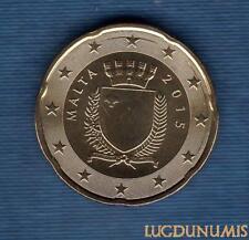 Malte 2015 20 Centimes d'euro FDC BU Provenant Coffret 30000 Exemplaires Malta