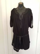 Polyester Short Sleeve Tunic City Chic Tops & Blouses for Women
