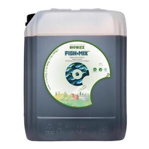 BioBizz Fish-Mix Organic Fertilizer Veg Herbs Plant Food Growth Nutrient - 10L
