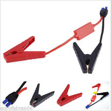 New 12V 2in1 Car Jump Starter Emergency Lead Cable Battery Alligator Clamp Clips