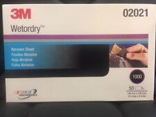"3M 2021 P1000 Wet or Dry Sandpaper 5.5""x 9"" 02021"