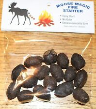 Moose Magic Beans Fire Starter - Unique Gift for Hunters, Snow Mobile, Campers
