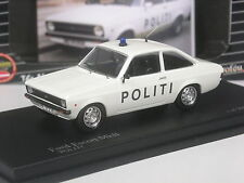 Rare: Trofeu Nordic Collection Ford Escort Political Denmark 1:43 in Boxed