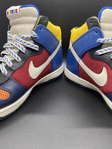 "VERY RARE Nike ""Be True"" Dunk High Supreme -321762-811 Used, No Box clean SZ 8.5"