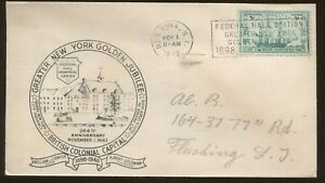 1948 New York Federal Hall Golden Jubilee British Colonial Capital Event Cover