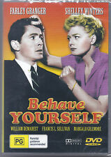 BEHAVE YOURSELF * NEW SEALED ALL REGIONS DVD * SHIRLEY WINTERS & FARLEY GRANGER