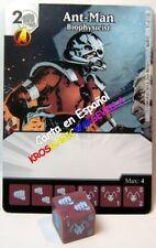 035 HOMBRE HORMIGA Biofísico (035 Ant-Man) ESPAÑOL DICE MASTERS UNCANNY X-MEN