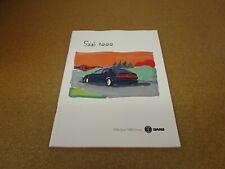 1996 Saab 9000 Aero CSE CS sales brochure DELUXE  64 page dealer literature