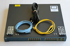 WS-C3560G-24TS-S  24 Gigabit Port + 4 SFP Managed Switch - 1 YEAR WARRANTY