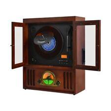 MAJESTIC TT40 Giradischi vinile retrò lettore MP3 USB CASSETTE Radio AM/FM encod