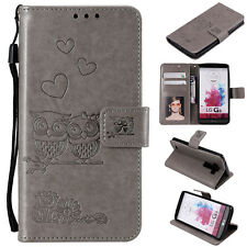 For LG V30 G3 G4 G5 G6 G7 K4 K8 K10 Case Magnetic Leather Card Wallet Flip Cover