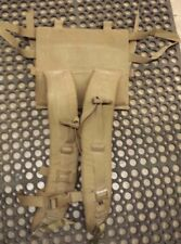 Good FILBE Main Pack Shoulder Straps only USMC Surplus Coyote Brown Tan Harness