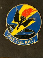 FAETULANT Vintage Airborne Electronics Unit Atlantic Military Plaque Metal 6x5""