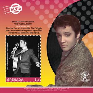 Grenada 2017 - Elvis Presley - Elvis Dances - Souvenir Sheet - MNH