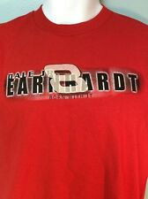 Dale Earnhardt Jr T Shirt Born With It Red Size L NEW Ships Free Made in USA