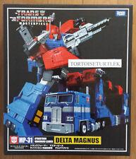 Takara Tomy MP31 Delta Magnus Transformers Masterpiece