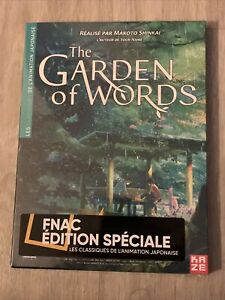 The Garden Of Words DVD de Makoto Shinkai - Édition Spéciale FNAC Kazé - NEUF