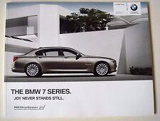 BMW . 7 . The BMW 7 Series . 2010 Sales Brochure