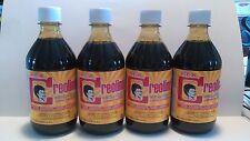 4 Bottles CREOLINA Coal Tar Deodorant Cleaner Odor Remover 16oz