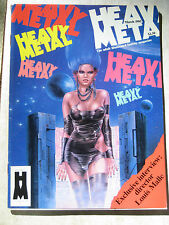 Comic Magazine HEAVY METAL March 1985 - Louis Malle - Enki Bilal - Milo Manara