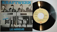 """7"""" KRAFTWERK - Las Modelos - SG Spain PS - 1981 UNIQUE COVER! ESPAGNE - N.MINT"""