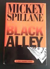 Black Alley Mickey Spillane  1st HC   Dutton 1996  Very Good Last Mike Hammer
