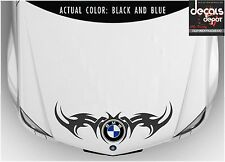 Fits BMW 3, 4, 5 Series 320D 320i 330i 740Li 750Li M5 X1 X3 X4 TRIBAL HOOD DECAL