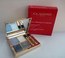 CLARINS 4-Colour eye quartet mineral palette, #04 indigo, Brand New in Box