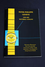 PATEK PHILIPPE   MATERIAL CATALOG  1920-1965