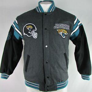 Jacksonville Jaguars NFL G-III Men's Reversible Letterman Jacket