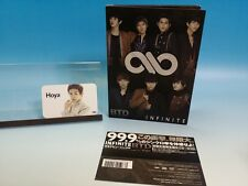 CD+DVD INFINITE BTD JAPAN Limited B TYPE Photo card HOYA