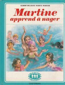 """Livre """"Martine apprend à nager"""""""