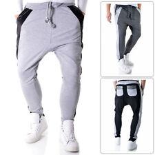 Cotton Regular Jeans Men's Mid Loose