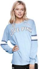 Victorias Secret PINK Open Back Cut Out Campus Crew Tee Shirt ~ Size Large